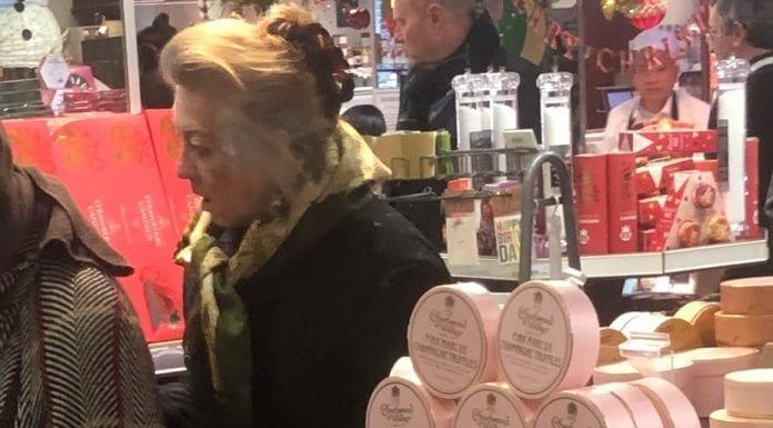 Brazen Bigoted Baroness' Boxing Day Baloney – Marie Claire von Alvensleben – Bigoted 'baroness' Marie Claire von Alvensleben, famed for rolling around on the floor with Michael Barrymore, spotted bargaining (unsuccessfully) in the Queen's grocers.