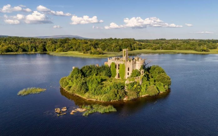A Castle With A Catch – McDermott's Island, Lough Key, Boyle, County Roscommon, Ireland – Romantic island in Ireland complete with its own castle for sale for just £80,000; there is, of course, a catch – Offered with a guide of £79,000 ($102,000, €90,000 or درهم373,000), bidding opens on 7th December and closes on the 13th December though BidX1.