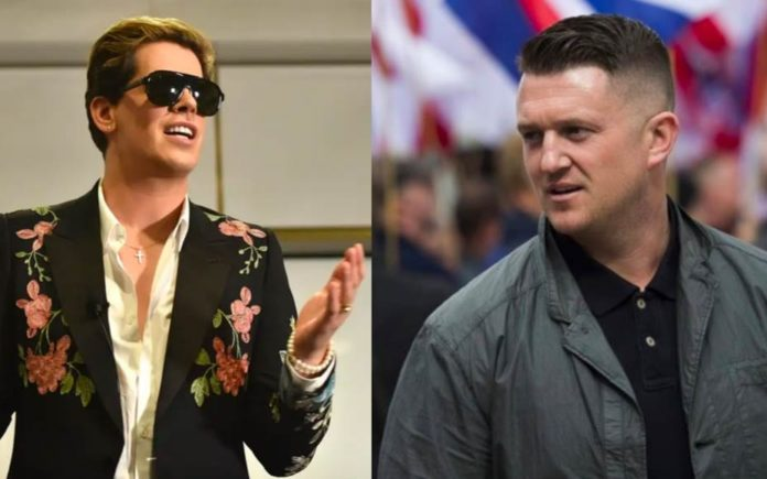 Vanquishing The Vulgarians – Milo Yiannopoulos and Tommy Robinson – A rare set of good news; Milo Yiannopoulos gets banned from Australia and Tommy Robinson loses his harassment case.