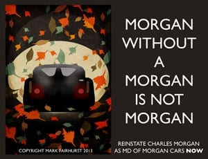 Morgan without a Morgan is not Morgan FI 1