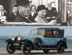 Mountbatten's Ghost – Ex Lord Mountbatten 1924 Rolls-Royce 40/50hp Silver Ghost cabriolet – chassis number '135EM' – For auction at Bonhams Goodwood Members' Meeting sale, 20th March 2016