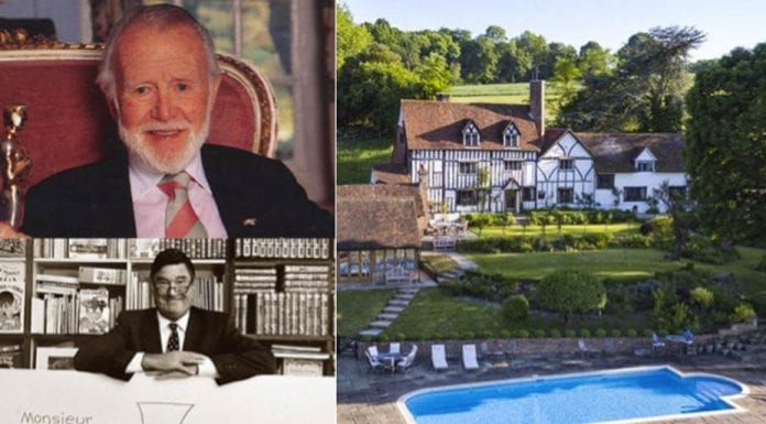 Mr Men & Mr Mills – Sussex House Farm, Hartfield Road, Cowden, Kent, TN8 7DX, United Kingdom – For sale for £5.5 million today with 203.77 acres ($7.1 million, €6.2 million or درهم26.1 million) through Knight Frank – Former home of Academy Award winning actor Sir John Mills CBE (1908 – 2005) in the 1950s and 1960s and children's author and illustrator Roger Hargreaves (1935 – 1988) from 1982 to 1988
