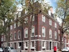 Scandal - Mulberry House, Smith Square, Westminster, London, SW1P 3HL; scene of ménage à trois between Henry Mond, 2nd Baron Melchett, Gwen Wilson, Lady Melchett and Gilbert Cannan