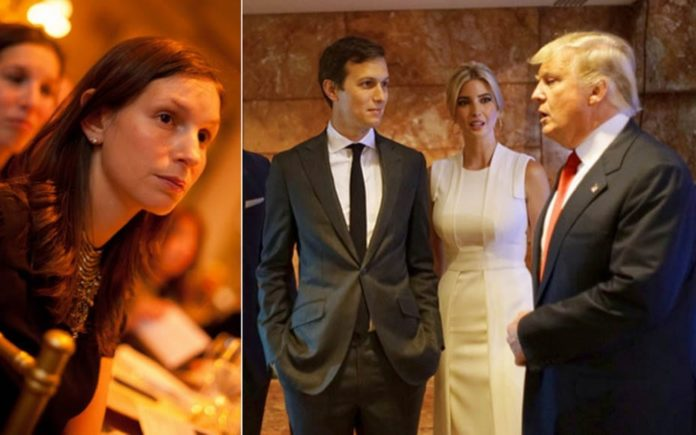 Trumping a Visa – Jared Kushner's family exposed for promoting their links to the Trump presidency to flog flats (with visas) to Chinese investors by The Washington Post – Jared Kushner, Ivanka Trump Kushner, Donald Trump, Nicole Kushner Meyer, Kushner 1, China.
