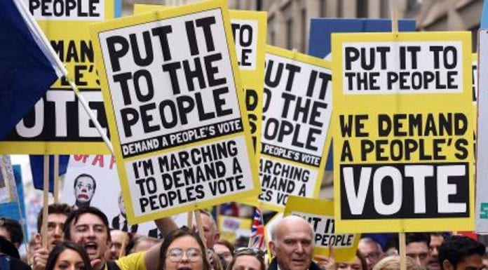 A Must March – People's Vote March, London, 19th October 2019 – 'The Steeple Times's' Matthew Steeples urges readers to join the Together for the Final Say People's Vote March in London tomorrow.