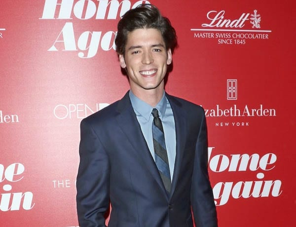 Rising star actor Pico Alexander (born Alexander Jogalla) – New York born actor Pico Alexander is of Polish heritage and the son of a cinematographer and also appeared in War Machine with Brad Pitt.
