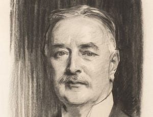Portrait of Albert Vickers by John Singer Sargent FI 1