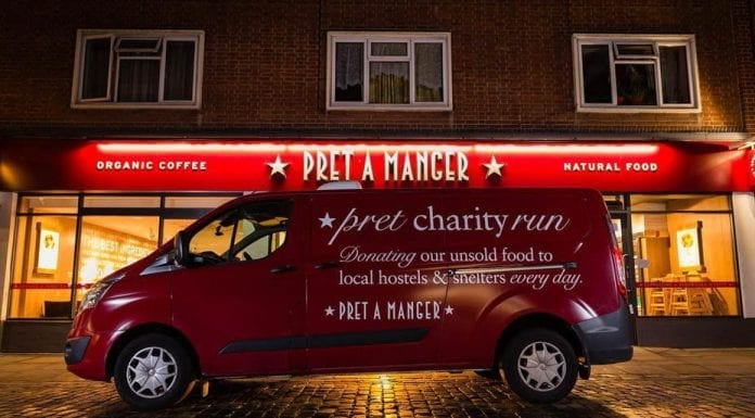 Praise Be To Pret – Pret should be saluted for helping the homeless – Matthew Steeples salutes Pret for doing more than most to help homeless people get jobs and permanent accommodation; others and the government should follow suit