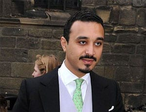 His Royal Highness Prince Khalid bin Bandar bin Sultan al-Saud