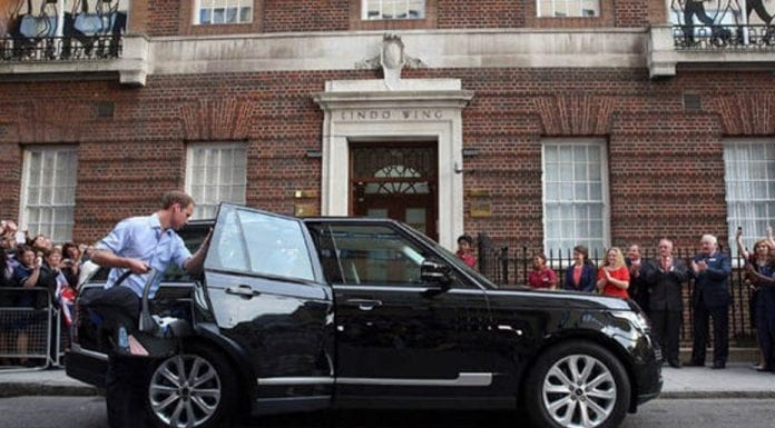 A Royal Range Rover – Duke and Duchess of Cambridge's Range Rover sells in charity auction – 14th September 2016 – Stand Down and Sun Screen IT