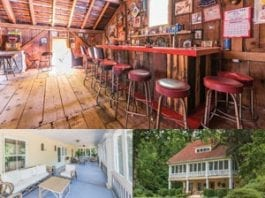 Raising the bar - A Shelter Island Heights home with quite possibly the best home bar ever comes to the market for £1.2 million