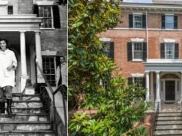 Reducing a Kennedy – 3017 N St NW, Washington, DC 20007 – Reduced from £7.677 million ($9.750 million or €9.109 million or درهم35.811 million) to £7.075 million ($8.995 million or €8.403 million or درهم33.038 million) – Home of Jacqueline Kennedy in 1964