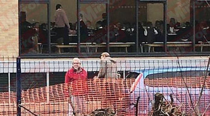 The Playground Pest – Rolf Harris invades a school playground – That the vile paedophile Rolf Harris turned up to wave at children in a school playground is proof that he should be sectioned.