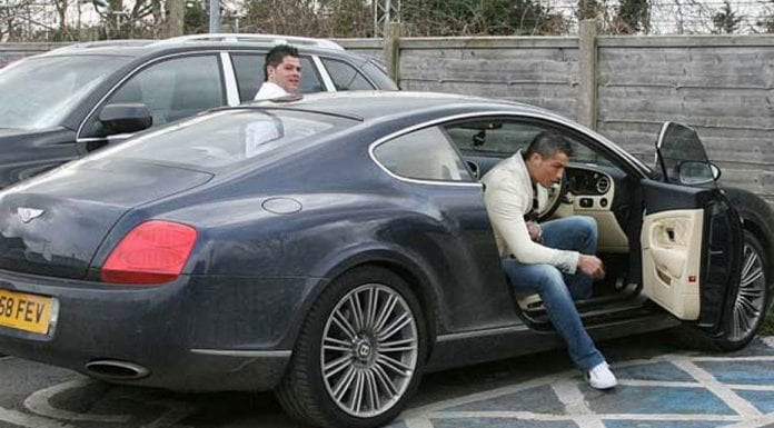 Ronaldo's Ride – 2008 Bentley Continental GT Speed formerly owned by footballer Cristiano Ronaldo to be auctioned – Silverstone Classics NEC Classic Motor Show Sale on 12th and 13th November 2016 – £50,000 to £60,000 ($63,200 to $75,800, €58,100 to €69,500, درهم‎‎,232,000 to درهم‎‎,279,000)