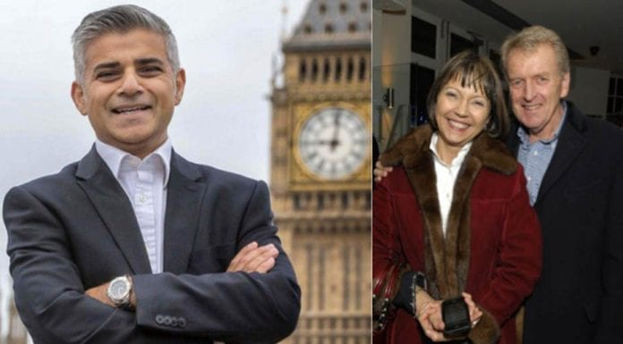 The Lady is a Snob – Lady Meyer proves she's nothing but a snob on Twitter – Sir Christopher Meyer, Catherine Meyer, Lady Meyer, Mayor Sadiq Khan