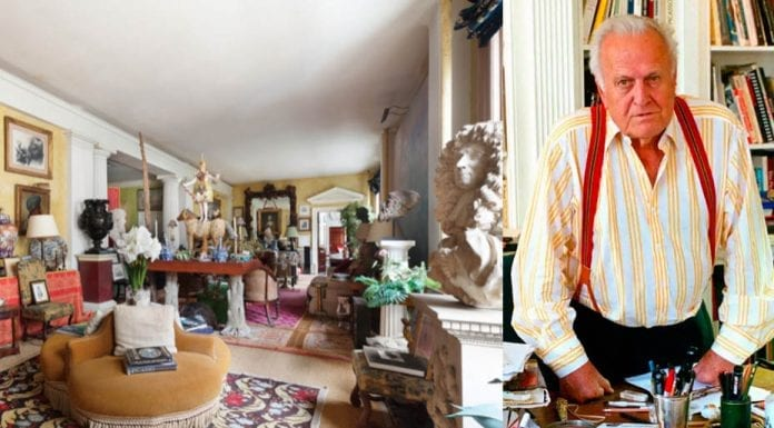 """A Manhattan Mash-Up – """"Baronial"""" bachelor pad-esque Manhattan loft that belonged to the late Picasso biographer Sir John Richardson KBE (1924 – 2019) for sale – Unit 7FL, 73 5th Ave Flatiron, Manhattan, New York, NY 10003, United States of America – For sale for £5.6 million ($7.2 million, €6.5 million or درهم26.4 million) through Jeffrey Stockwell of Compass."""