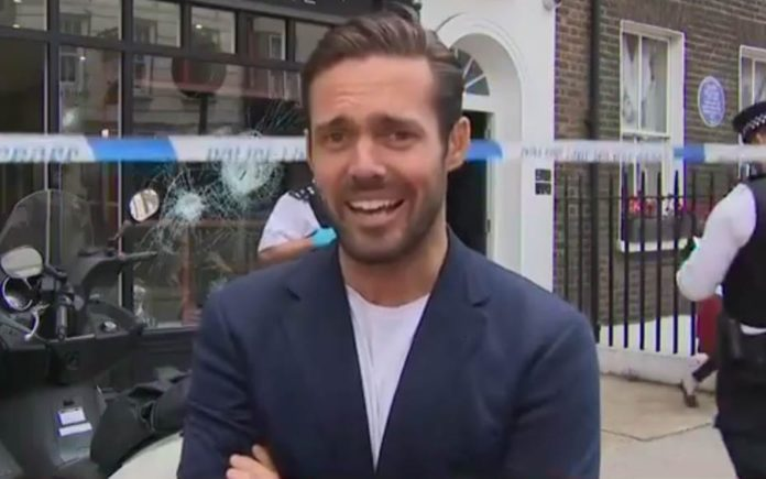 """Basement Journalism – Spencer Matthews performs yet another stunt – That Spencer Matthews was described on Sky News as a """"royal relative"""" is just yet another example of shoddy journalism."""