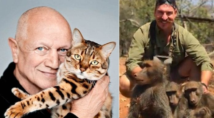 Brilliant Berkoff – Steven Berkoff shares his views on the slaying of a family of baboons by an American monster named Blake Fischer.