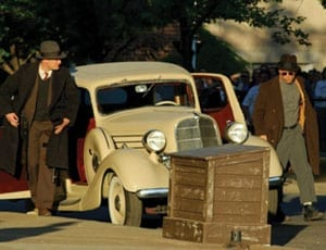 Rock's Terraplane – 1935 Hudson Terraplane custom two-door sedan – Used in 2009 film Public Enemies with Johnny Depp and Christian Bale – To be sold by auction by Auctions America on 2nd April 2016 in Fort Lauderdale, Florida – Currently owned by Kid Rock