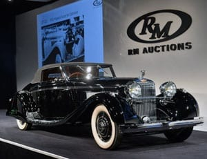 The 1935 Hispano Suiza achieved 2.255m at auction this weekend FI 1