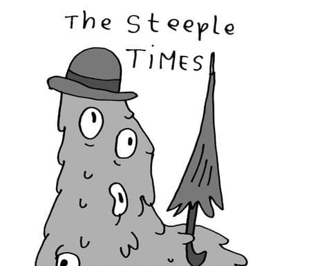The Steeple Times as a monster 1