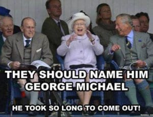 They should name him George Michael FI 1