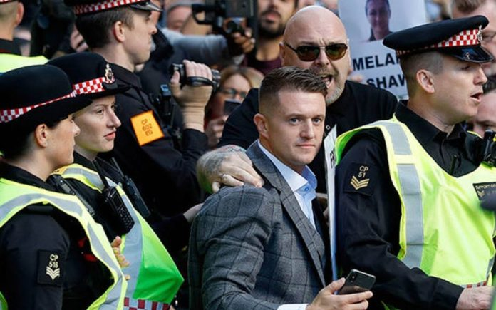 Tantrum Tommy – Tommy Robinson deserved to be attacked – That self-serving racist bigot Tommy Robinson has been attacked with milkshakes twice serves as poetic justice.