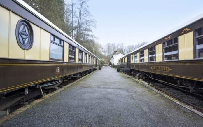 Training a B&B – The Old Railway Station, Petworth West Sussex, GU28 0JF, United Kingdom – £1.5 million ($1.9 million or €1.7 million) through Chesworths – Converted railway station with Pullman carriages