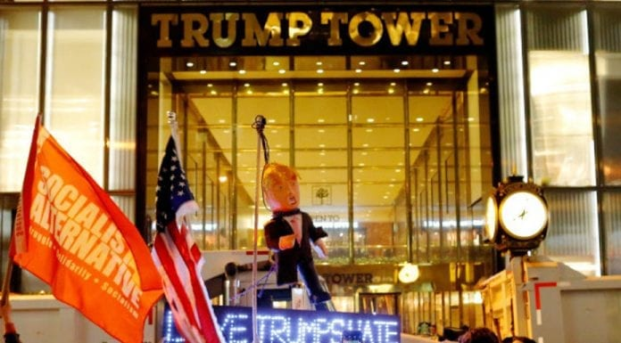 Trump Tower's Troubles – Trump Tower, 725 Fifth Avenue, New York, NY 10022 – President-elect Donald Trump