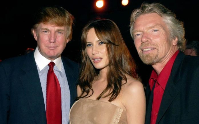 Trump and Branson – Self-described 'entrepreneur' Sir Richard Branson sticks his oar in with regard to the US elections and Donald Trump; we say he's just as ghastly