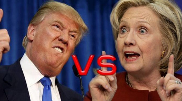 Twisting Trump – Despite Hillary Clinton's sterling performance in the first presidential debate, Donald Trump claims to have won on Monday night