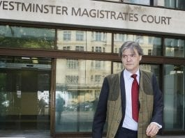 From Gilet to Jail – Bankrupt bigot baron Rhodri Philipps, Viscount St Davids jailed for 12 weeks and slapped with a restraining order for 5 years.
