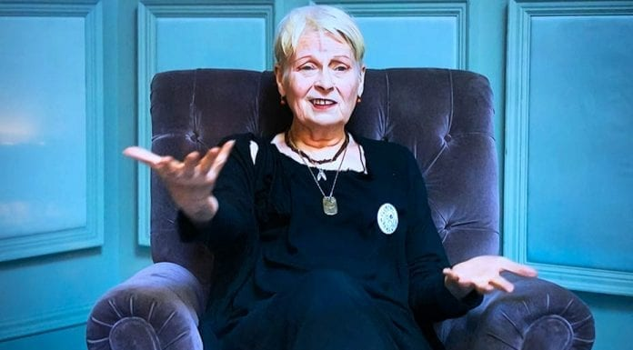 The Weirdness of Dame Vivienne Westwood DBE, RDI and Andreas Kronthaler – In 'Westwood: Punk, Icon, Activist' Vivienne Westwood proves herself to be nothing but a deranged hypocrite and fruit loop.