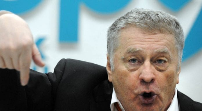 Wally of the Week – Vice Chairman of the State Duma of Russia Vladimir Zhirinovsky – Supporter of Donald Trump and Vladimir Putin declares election of Hillary Clinton would lead to a nuclear war