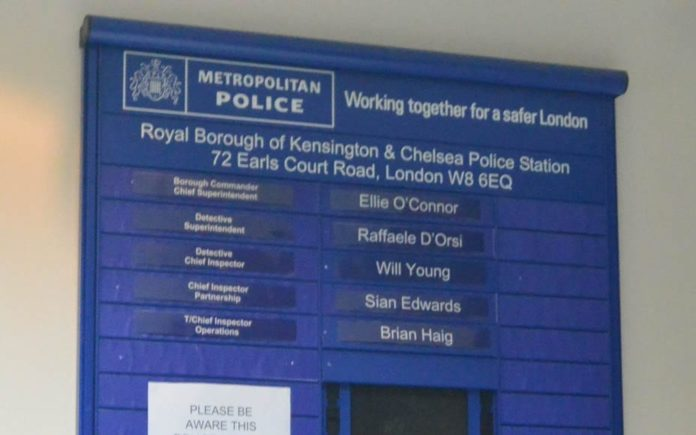 Picture of the Week – Where there's a Will… Will Young – Detective chief inspector at Kensington Police Station