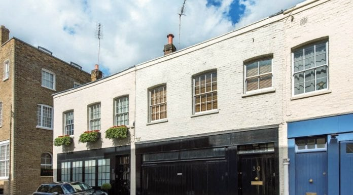 A Bargain in Belgravia – 30 Wilton Row, Belgravia, London, SW1X 7NS, United Kingdom – Mews house with garaging for five cars for sale for £1.5 million ($2 million, €1.7 million or درهم7.2 million) through Ayrton Wylie.