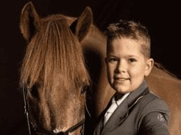 """Alfie Diaper – Showjumper, show rider and """"all-round horseman"""" – Aged just nine in 2019, """"little star"""" Dorset born Alfie Diaper has had success at the Olympia Horse Show, the Liverpool International Horse Show."""