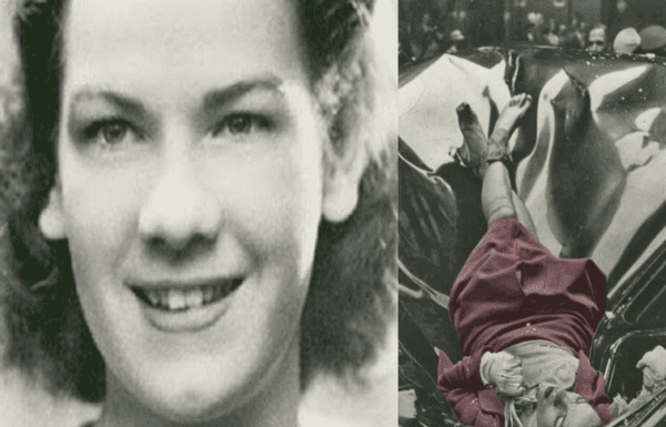 """Evelyn McHale (1923 – 1947) – Little is known about what drove Evelyn McHale to jump from the Empire State Building and be captured in the """"most beautiful suicide [photograph] ever"""" on 1st May 1947."""