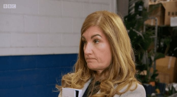 Moron of the Moment – Lady Brady – 'The Steeple Times' suggests that in the wake of the latest drivel she spouted in 'The Sun on Sunday' Karren Brady belongs in the funny farm.