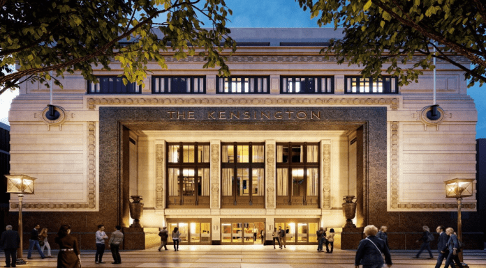 """A Box Office Balls-up – Kensington Odeon cinema scheme gets go-ahead – Royal Borough of Kensington & Chelsea council's decision to approve replacement for Kensington Odeon with a 63% smaller cinema is deservedly condemned as a """"box office balls-up."""""""