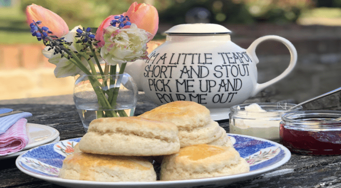 Ask Charlie – Lockdown Afternoon Tea with Charlie – Charlie Gray of 'Ask Charlie' shares her thoughts how to perfect a lockdown afternoon tea complete with lavender scones.