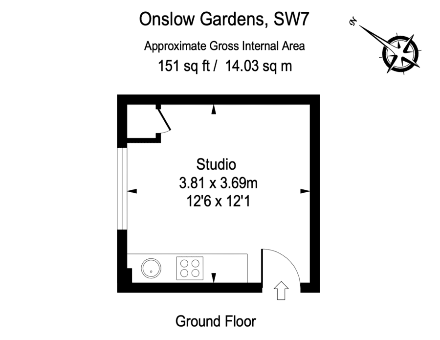 A Room (Without) A Loo – £210 per week for Onslow Gardens, South Kensington, London, SW7 flat (with no loo) – Flat in Onslow Gardens, South Kensington available to rent for the same cost as a week on the Joe Wicks diet through chi-chi estate agents Knight Frank; there is, of course, a catch: There's no loo.