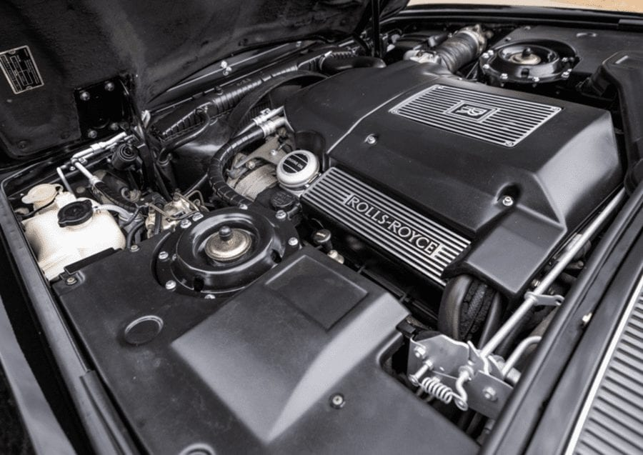 A Demon Rolls-Royce – Dot-com tycoon Cliff Stanford's 1998 Rolls-Royce Silver Spur to be auctioned by Historics Classic and Sportscar Auctioneers on 18th July 2020 with an estimate of £18,000 to £22,000 ($22,200 to $27,100, €19,800 to €24,200 or درهم81,600 to درهم99,700) at their Windsorview Lakes sale.