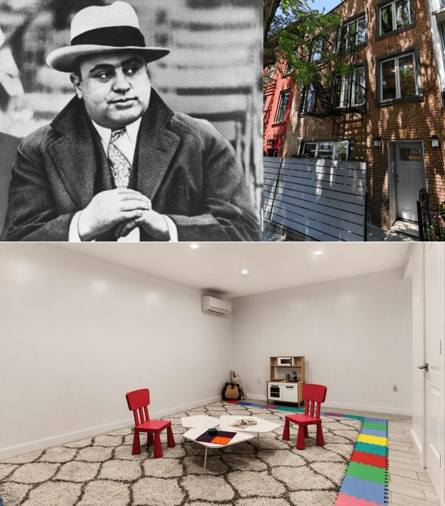 Moving On – July 2020 – Capone, Conran & Kennedy – Moving on homes owned by the newsworthy – including a country house apartment in a castle currently owned by Jasper Conran and the childhood homes of Al Capone and Jackie Kennedy.