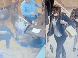 A Security Lobotomy at The Botanist – Thief caught on camera – 'The Steeple Times' reports on anything but a 'Super Saturday' at The Botanist on Sloane Square; we share here imagery and a video of a thieving woman whom must be caught. 4th July 2020, The Botanist, 7 Sloane Square, London, SW1W 8EE.