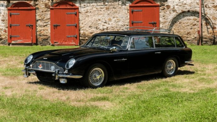 A £1 Million Shooting Brake – 1966 Aston Martin DB6 shooting brake with coachwork by Harold Radford – Quirky Aston Martin shooting brake goes to auction with a reserve of just under £1 million – Offered by Bonhams with an estimate of £780,000 to £930,000 ($1 million to $1.2 million, €850,000 to €1 million or درهم3.7 million to درهم4.4 million) at their Quail Motorcar Auction in Los Angeles, California, USA on 14th August 2020.