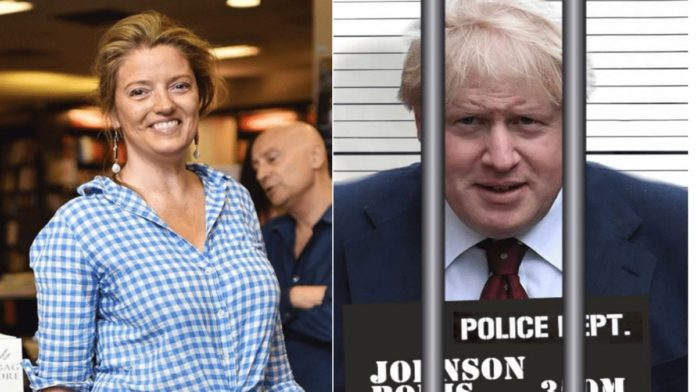 """Locking Up Bosie The Clown – Petronella Wyatt on Boris Johnson – Petronella Wyatt takes to Twitter to suggest Boris Johnson """"locks himself down"""" given he is 57 years old and obese."""