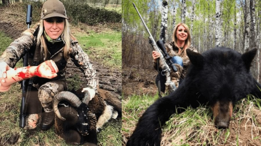 Ban the InstaKiller – Larysa Switlyk must be banned from Instagram – Wolf slaying 'InstaKiller' Larysa Switlyk disgracefully remains on Instagram in spite of campaign to remove her going viral.