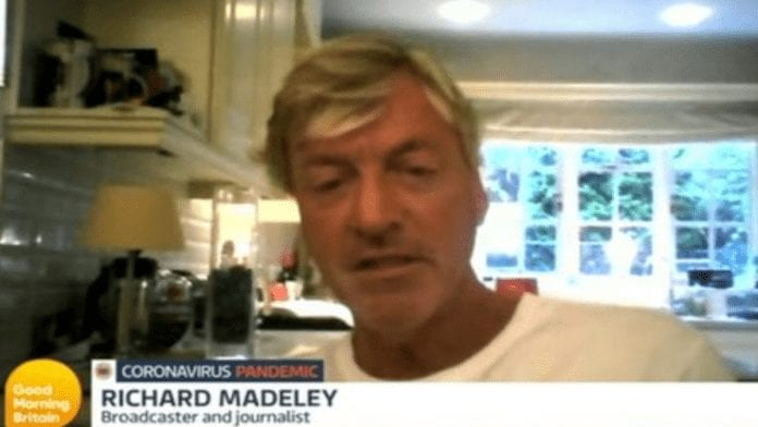 Wally of the Week – Richard Madeley shares views on coronavirus – Richard Madeley returns to the tellybox to yet again share his completely lacking in relevance thoughts on coronavirus.