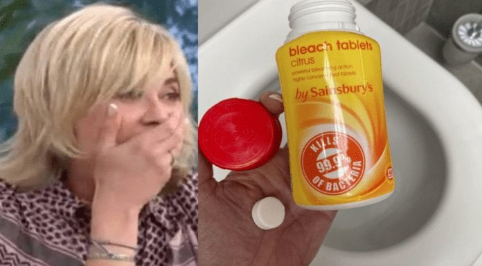Anth' Swings Back To The Bog – Anthea Turner on bleach in bathrooms – Anthea Turner's decision to talk about how she doesn't like seeing bleach in a bathroom confirms her desperation for any kind of publicity; shouldn't she just bog off?
